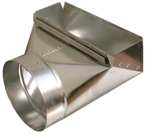 Royal Metal Products 12 x 11 x 6 in. 90° Boot Galvanized Steel 30 ga R2333126