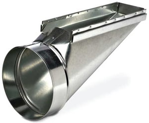 Royal Metal Products 14 x 8 x 3 in. Center Stack Boot R2343148