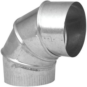Northwest Metal Products 14 in. 26 Gauge Galvanized 90 Adjustable Elbow N144034