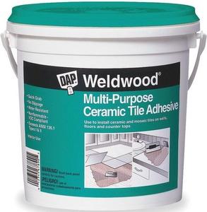 DAP Weldwood® 1 gal Multi-Purpose Ceramic Tile Adhesive in White D25192