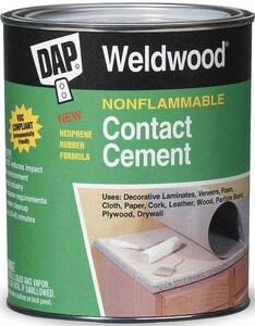 DAP Weldwood® 1 qt Contact Cement in Natural D25332