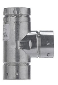 Selkirk Americas 3 in. Type B RV Round Gas Vent Tee M3RVTS