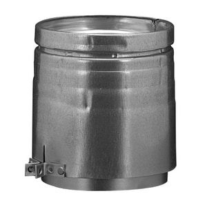 Hart & Cooley 4-9/16 x 6 in. Gas Vent Adapter Aluminum and Galvanized Steel H4RA