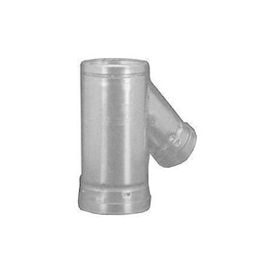 Hart & Cooley 3 x 6 x 12 in. Gas Vent Wye H6RYF43