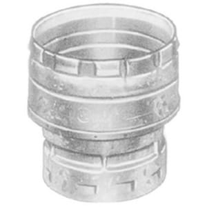 American Metal Products AmeriVent® 4 x 6 in. Gas Vent Increaser Aluminum Alloy and Galvanized Steel A4EIX6