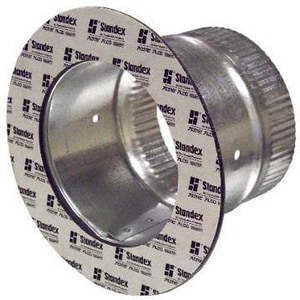 Snappy 14 in. Round Adhesive Duct To Plain SNA16714