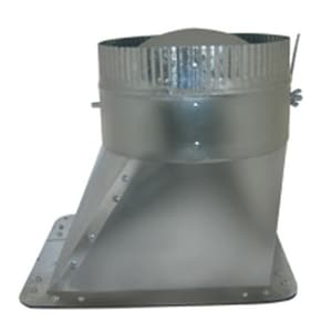 Royal Metal Products Duct Round Takeoff Galvanized Steel Round to Rectangular R309SDG