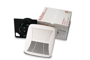 Broan Nutone QTRN Series 50 CFM Quiet Bath Exhaust Fan Finish Pack NQTRN050F