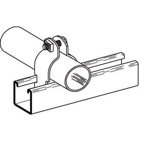 Cooper B-Line 7 Series 1/4 in. Strut Clamp with Hardware BB2023ZN