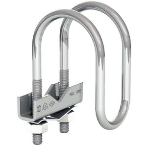 6 in. Electrogalvanized Fast Clamp Sway Brace BY380012060E
