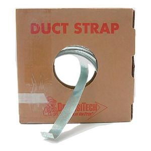 Diversitech 100 ft. x 1 in. 22 ga Metallic Roll Duct Strap DIV710005