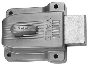 Yale Security 3-1/16 x 3-1/2 in. Heavy Duty Flat Latchbolt Lock in Sprayed Brass Y112F