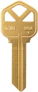 Kaba Ilco Brass Key (50 per Box) IKW1BR