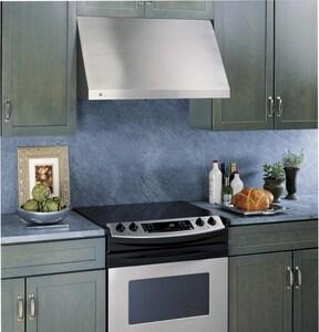 General Electric Appliances Profile™ Series 30 in. 600 cfm Design Hood in Stainless Steel GJV936DSS