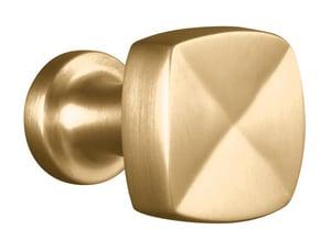 KOHLER Margaux® 15/16 in. Knob in Vibrant Brushed Bronze K16262-BV