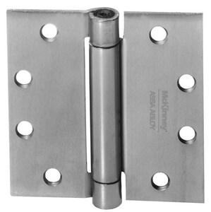 McKinney Products Company 4-1/2 x 4-1/2 in. Door Hinge in Dull Chromium M156023