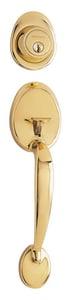 Pamex Lincoln Single Handleset Deadbolt in Polished Brass PPS7731