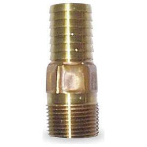 Campbell Manufacturing 1-1/2 in. Male Red Brass Adapter CMAB