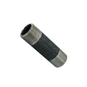 5 x 5-1/2 in. Threaded Standard Black Carbon Steel Nipple BNST