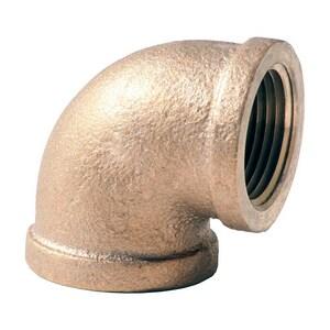1 x 1/2 in. FNPT Brass 90 Degree Elbow IBR9GD