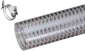 Kuriyama Tiger Suction™ 1-1/4 in. PVC Suction Hose KF125X100