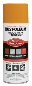 Rust-oleum Hydrant Industrial Choice Spray Paint in Gloss School Bus Yellow R16830
