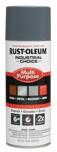 Rust-Oleum® Hydrant Industrial Choice Spray Paint in Universal Grey R1686830