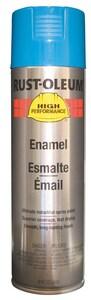 Rust-Oleum® 15 oz. Spray Paint in Semi Gloss Safety Blue RV2124838 at Pollardwater