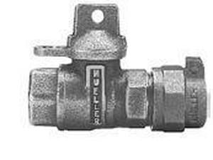 Mueller Company 1 in. FIP x CTS Pack Joint Service Ball Valve MP25170RNG