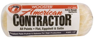 Wooster American Contractor™ 9 x 1-1/4 in. Roller Cover WR3659