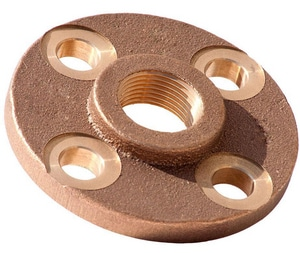 1 in. FNPT 150# Brass Flange IBRTFG
