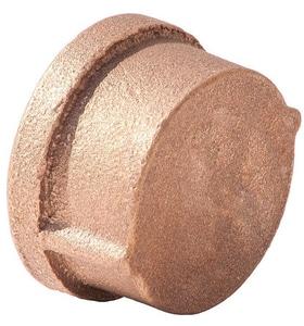 1-1/4 in. FNPT Brass Cap BRLFCAPH