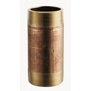 1 x 42 in. MNPT Global Brass Nipple GBRNG42 at Pollardwater