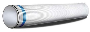 Contech Construction 24 in. x 20 ft. Sewer PVC Drainage Pipe C2000P2420