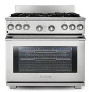 Electrolux Home Products Pro-Style™ 36 in. Pro-Style Dual-Fuel Range in Stainless Steel EE36DF76GPS