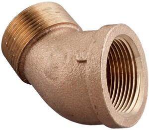 MNPT x FNPT Brass 45 Degree Elbow BRLFS4 at Pollardwater