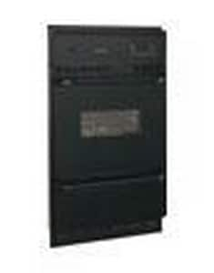 Frigidaire 24 in. Natural Gas Multicolor Wall Oven with Broiler in Black FFGB24L2AB