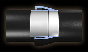 American Cast Iron Pipe Fastite® 10 in. CL51 Cement Lined Ductile Iron Pipe AFT51P10