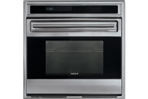 Wolf Range 30 in. Single Electric Wall Oven Unframed in Stainless Steel WSO30US