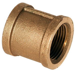 3/4 in. FNPT Brass Straight Coupling BRC