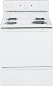 General Electric Appliances Hotpoint® 30 x 26-3/8 in. Electric Standard Clean Free Standing Range GRB525DD