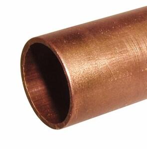 2 in. x 10 ft. Hard DWV Copper Tubing CDWVTK10
