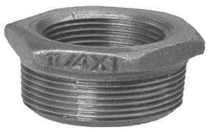 1/4 x 1/8 in. MNPT x FNPT Galvanized Malleable Iron Bushing IGBBA