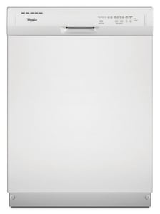 Whirlpool 24 in. 5-Cycle 4-Option Tall Tube Dishwasher in White WWDF510PAY