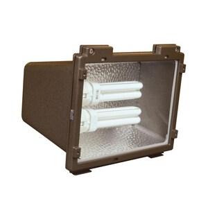 AFX Lighting 26W 2-Light Fluorescent 4-Pin Flood Light in Oil Rubbed Bronze ATPDW213RBPLT