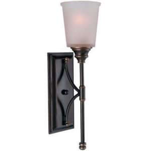 Seagull Lighting Warwick 6-1/4 in. 1-Light Wall Sconce in Vintage Bronze S41330825