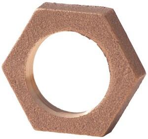 1/2 in. FNPT Domestic Brass Lock Nut BRLFLND