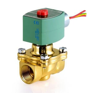 Asco Valve Red Hat® 8210 Series 115V Solenoid Valve 150 psi 4-1/10 in. Brass A8210G095 at Pollardwater
