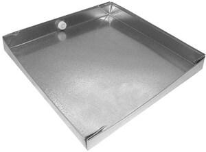 Royal Metal Products 28 in. 24 GA Drain Pan SHMDP2428