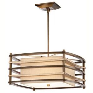 Kichler Lighting Moxie™ 100W 2-Light Pendant in Cambridge Bronze KK42062CMZ